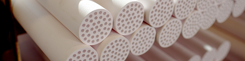 ceramic membranes for ultra-filtration and micro-filtration